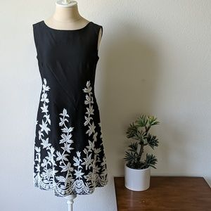 Amazing 50s glass hand beaded cocktail dress